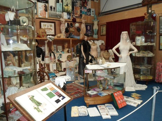 Oakham Treasures: Where to look first, our ladies recognised the stockings and suspenders