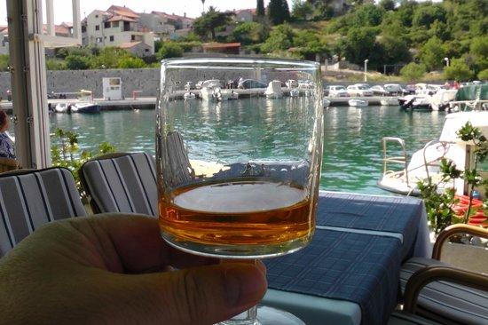 Ivan Restaurant : Best pear liqueur I have ever tasted (domestic)...