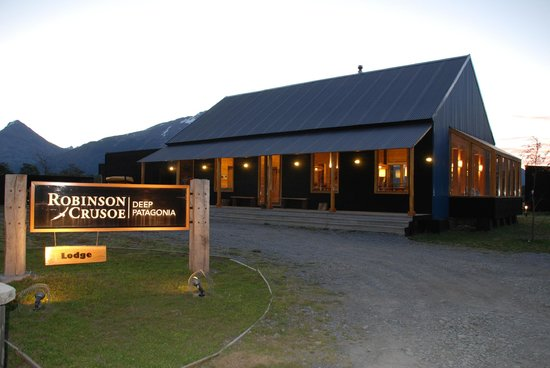 Lodge Robinson Crusoe Deep Patagonia: Club House