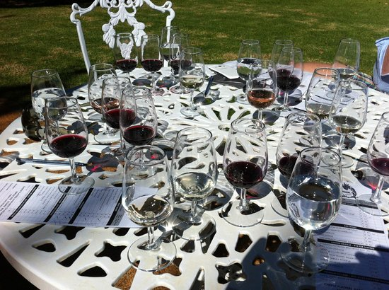 Boschendal Manor & Winery: Tasting aftermath
