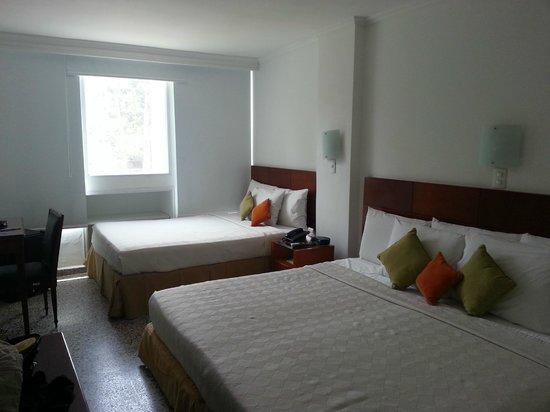 Tequendama Inn Cartagena de Indias: room 201  from the entrance