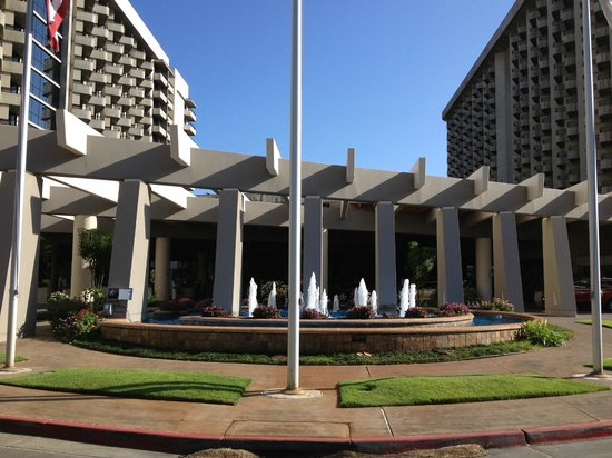 Hale Koa Hotel Entrance To The