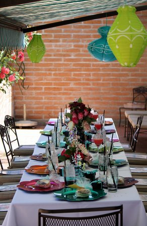 Tohono Chul Garden Bistro: our afternoon tea party celebration
