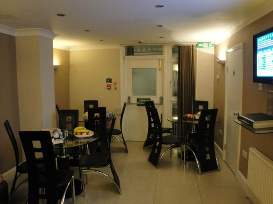 CityStay Hotel: Comedor