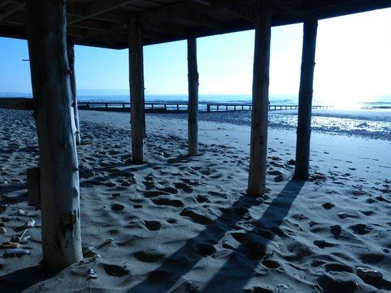 The Waterfront Inn: Beach 30 seconds walk