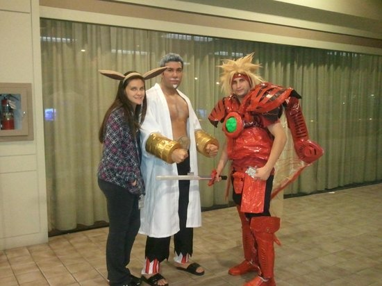 Manchester Downtown Hotel: Anime Con 2012