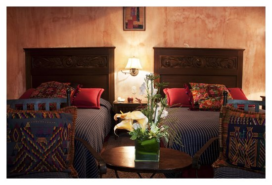 Hotel Meson de Maria: Room with 2 Queen Size Beds