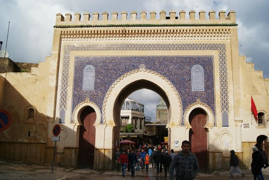 Bab Boujloud : Spettacolare porta di Bad Bou Jeloud