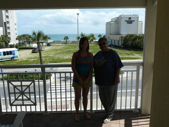 Best Western Plus Grand Strand Inn & Suites: View from our room