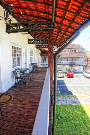 Hotel Luisiana: terrace