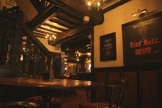 Pied Bull Inn : Inside pied bull