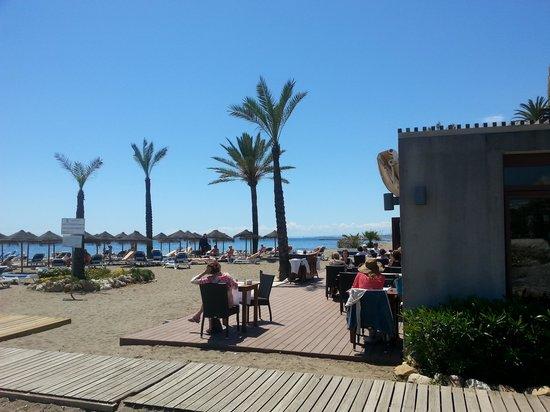 Amare Beach: Beach Club Hotel Fuerte Miramar