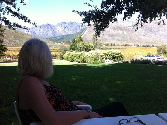 Glenwood Vineyards : View from terrace
