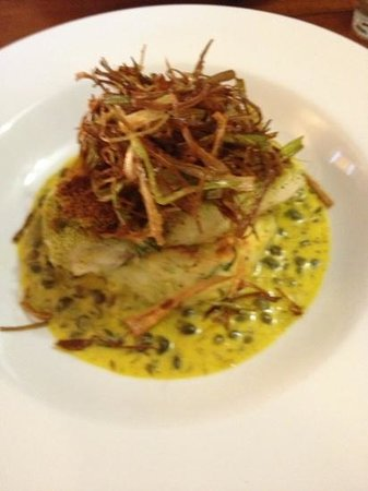 Coasters: hake main course