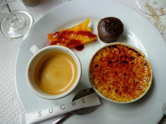 Le Jardin d'Ivy : Café gourmand
