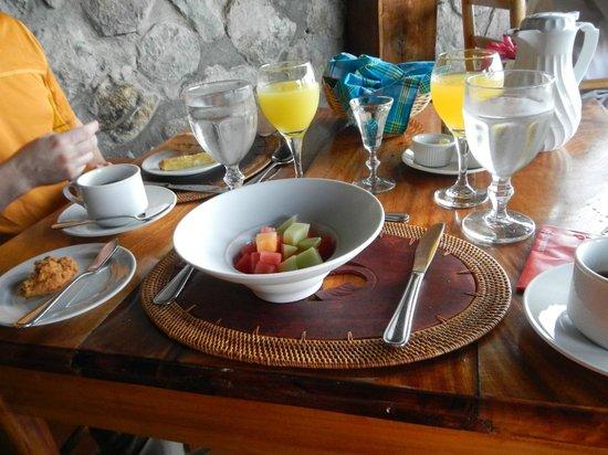Ladera Resort : Breakfast