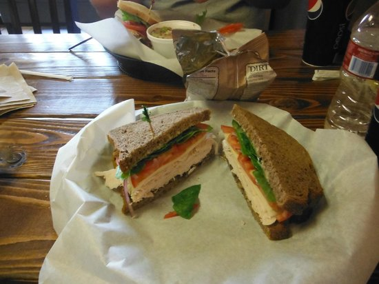 West Side Deli: my sandwich