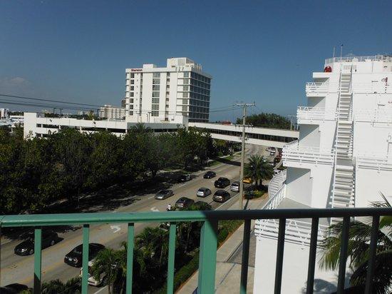 BEST WESTERN PLUS Oceanside Inn: Vue de notre balcon