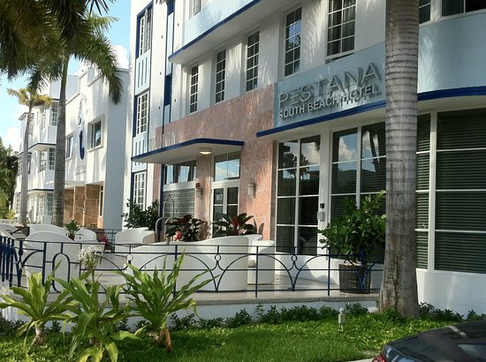 Pestana South Beach Art Deco Hotel: Street View