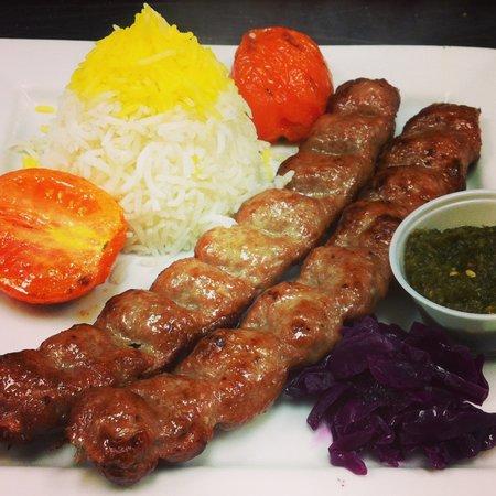 Shiraz Cafe & Restaurant: Kebob Kobideh (Jack Kebob)