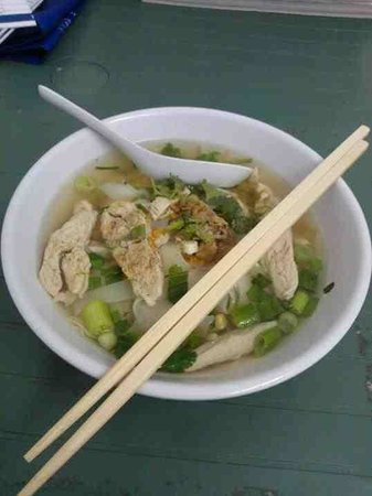 Thai & Far Eastern Foods: Chicken noodle soup (yum!!!)