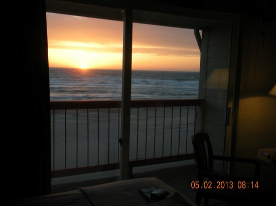 Surftides Lincoln City: What a beautiful sunset