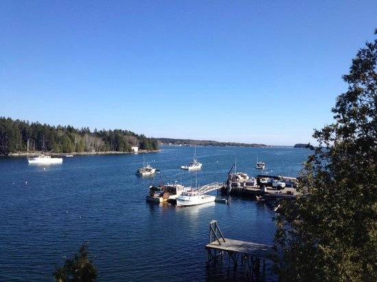 Quahog Bay Inn in Harpswell, Maine: Quahog Inn Bay View