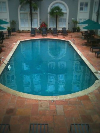 Bourbon Orleans Hotel : heated saltwater courtyard pool---so nice at the end of the day