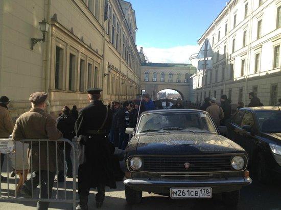 Kempinski Hotel Moika 22: film crew