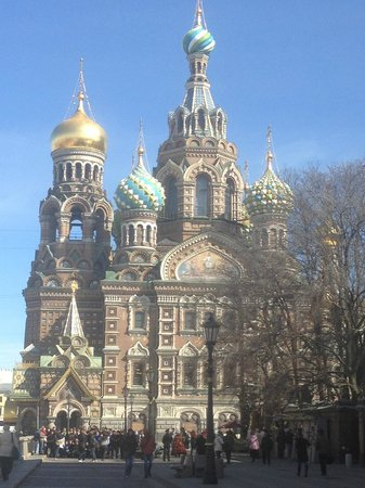 Kempinski Hotel Moika 22: church of spilled blood