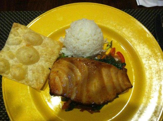 Skipjack's Foxboro: ginger seabass