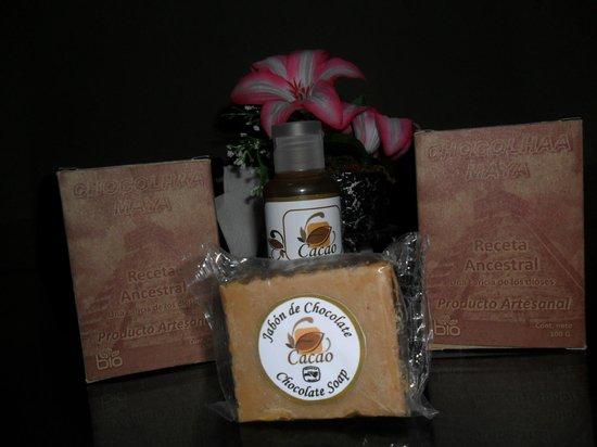 Cacao: El shampoo huele riquisimo