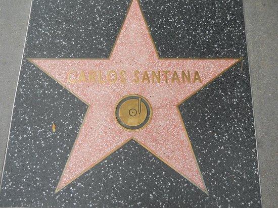 Hollywood Walk of Fame: Carlos Santana!