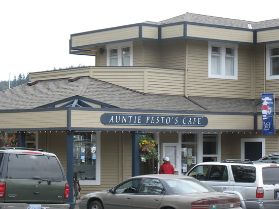 Auntie Pesto's Cafe: 'Auntie Pesto's', Ganges, Salt Spring Is.
