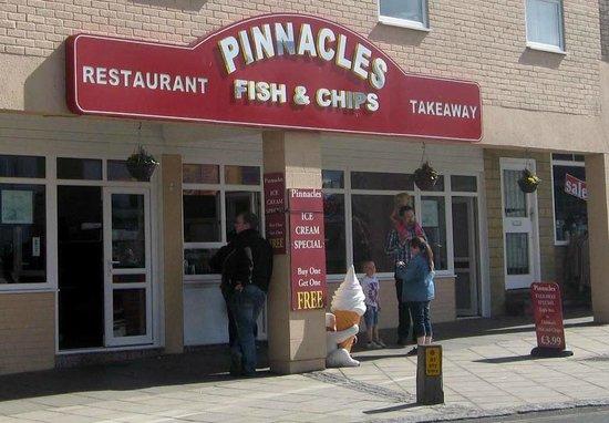 Pinnacles Restaurant: Pinnacles in Seahouses.