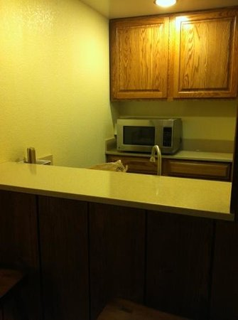 Salt Fork Lodge and Conference Center: new king hospitality suite. room 275