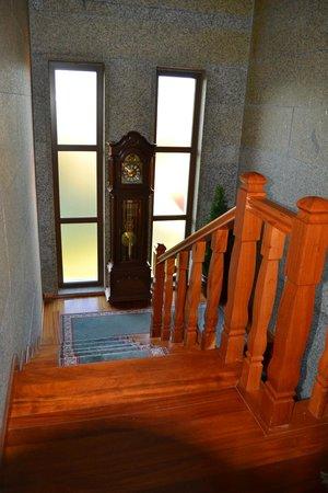 Quinta do Carvalho: Escadas