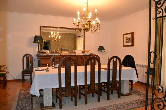 Quinta do Carvalho: Mesa de refeições