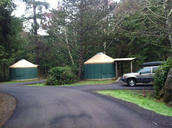 Cape Lookout State Park: Yurts