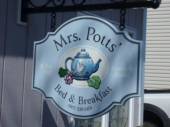 Mrs Potts' Bed & Breakfast: Top notch B & B in Kodiak!