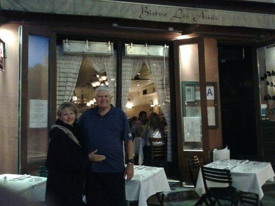 Bistro LES AMIS: Great French food and relaxing atmosphere