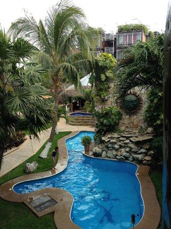 Aventura Mexicana: Hotel Pool area