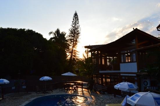 Hotel Praia do Portinho: Pôr do sol...