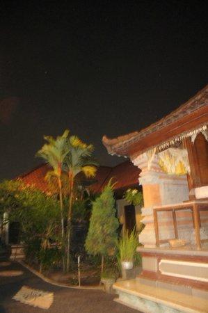 Kubu Kauh Beach Inn Legian: Nice evening view