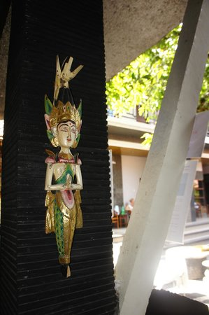 Kubu Kauh Beach Inn Legian: Last impression to show the beauty of the B&B