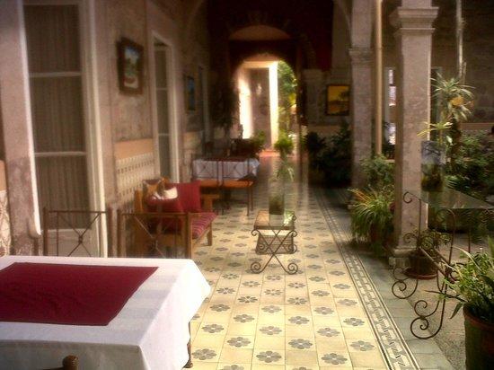 Casa Limonchelo: pasillo comedor
