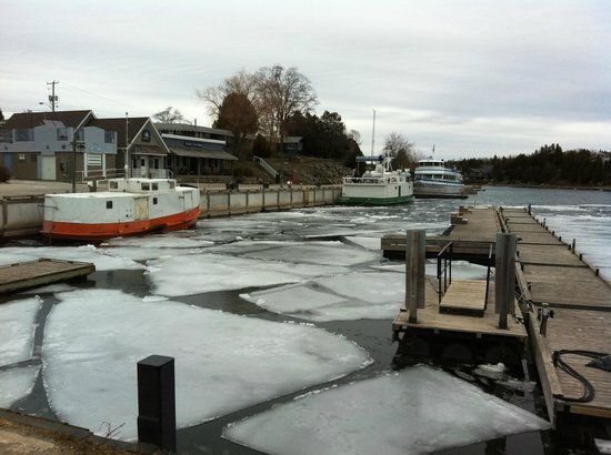 Tobermory Princess Hotel : Icy Harbour