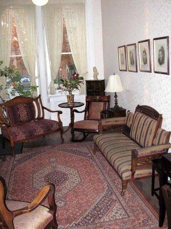 The Priory Hotel: Common area