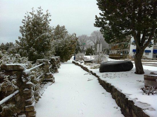 Tobermory Princess Hotel: The walk back to the Princess