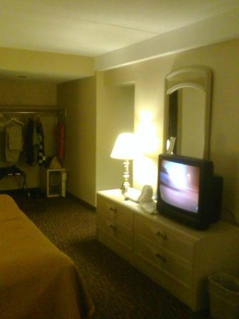 Howard Johnson Hotel by the Falls Niagara Falls: The room again